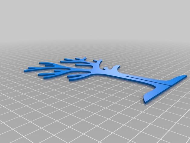 树形珠宝架 3D模型  图5