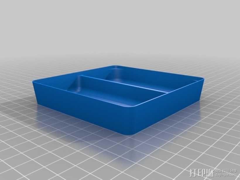 可堆叠方形托盘 3D模型  图5