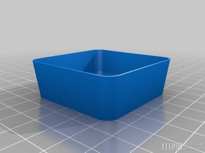 可堆叠方形托盘 3D模型  图8
