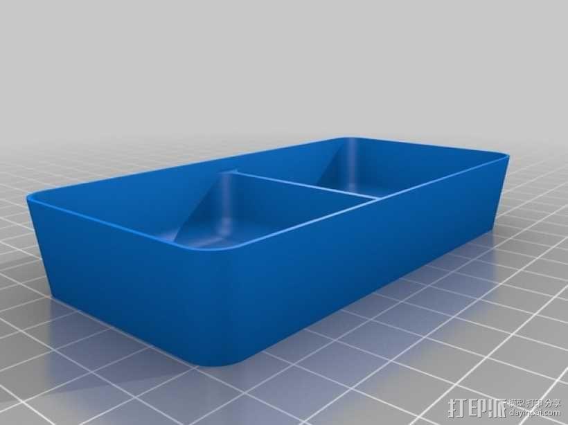 可堆叠方形托盘 3D模型  图7