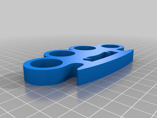 吸血鬼形压纸器 3D模型  图2