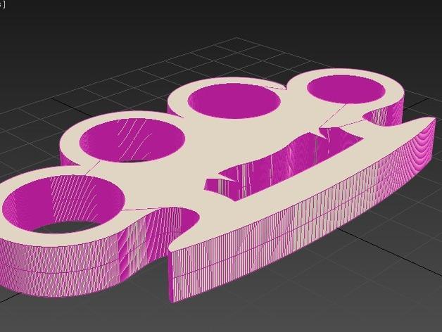 吸血鬼形压纸器 3D模型  图4