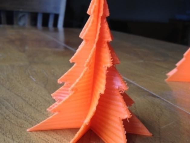 定制化迷你圣诞树 3D模型  图2