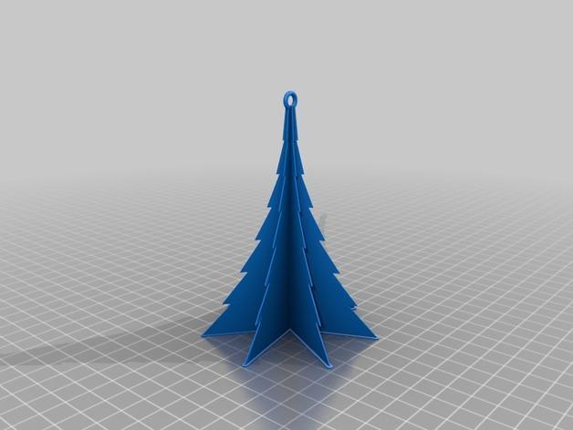 定制化迷你圣诞树 3D模型  图8