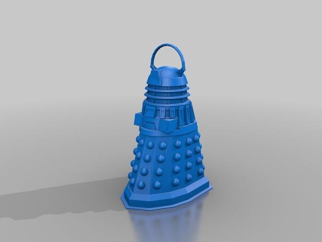 神秘博士主题圣诞装饰品 3D模型  图2