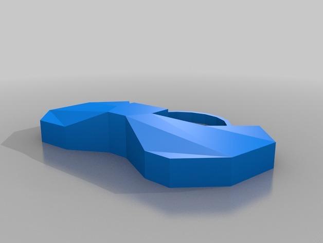 神秘博士主题圣诞装饰品 3D模型  图5
