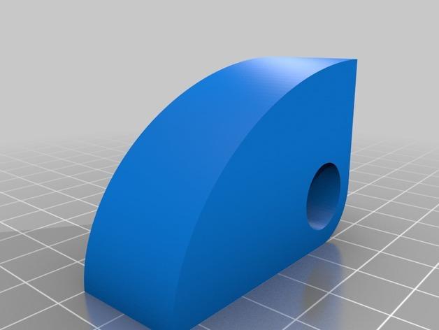 扇形挂钩 3D模型  图4