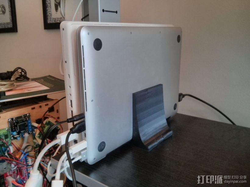 苹果平板电脑支架 3D模型  图1