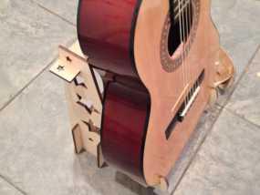 激光切割吉他支架 3D模型