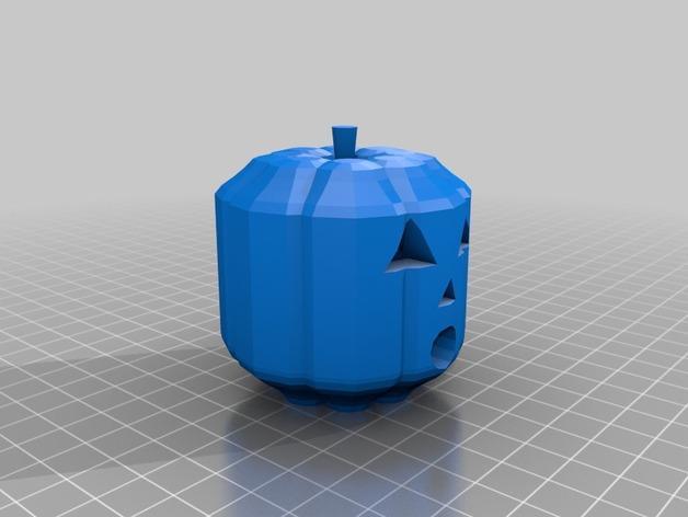 定制化南瓜灯 3D模型  图2