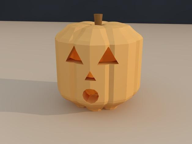 定制化南瓜灯 3D模型  图3