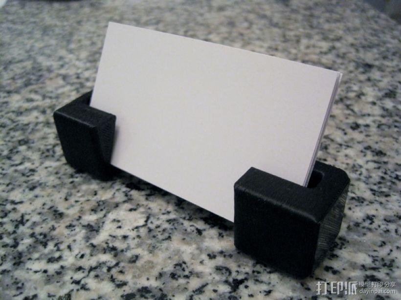 名片夹 3D模型  图1