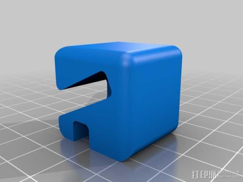 名片夹 3D模型  图4