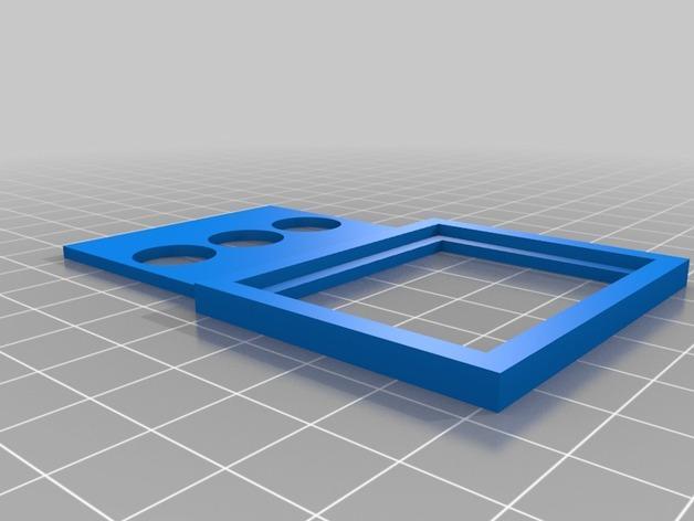 定制化相框形冰箱磁铁 3D模型  图3