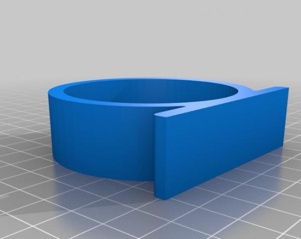 剃须刀架/挂钩 3D模型  图3