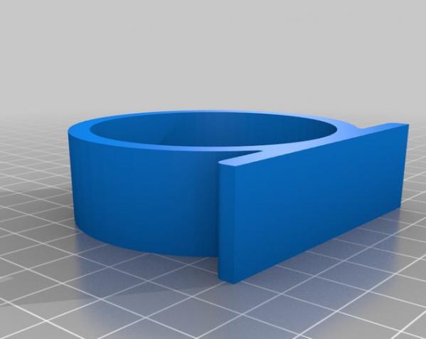 剃须刀架/挂钩 3D模型  图2
