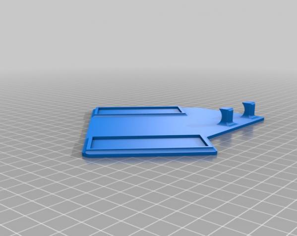 剃须刀架/挂钩 3D模型  图4