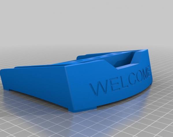 办公桌桌面规整架 3D模型  图1
