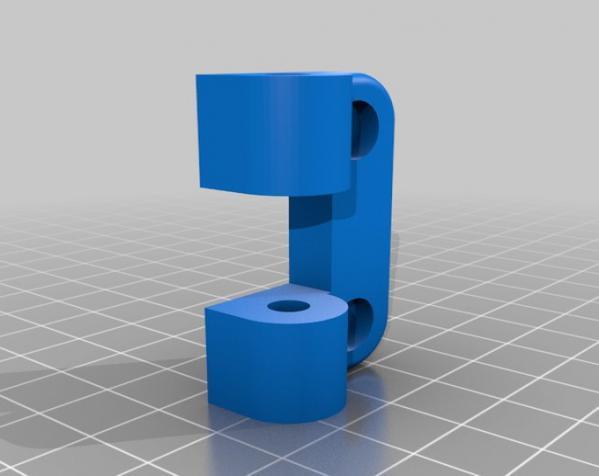 简易合页/铰链 3D模型  图2