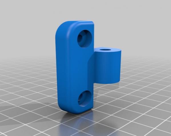 简易合页/铰链 3D模型  图3