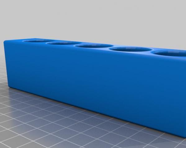 磁力白板笔架 3D模型  图3