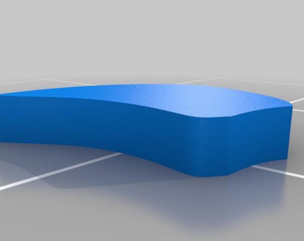 花形六边形杯托 3D模型  图10