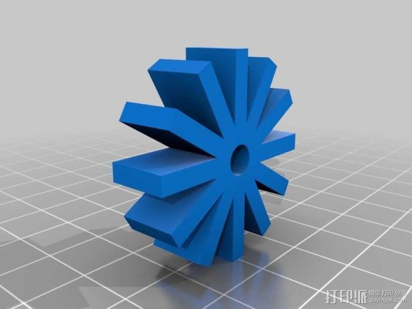 微型SD卡盒 3D模型  图2