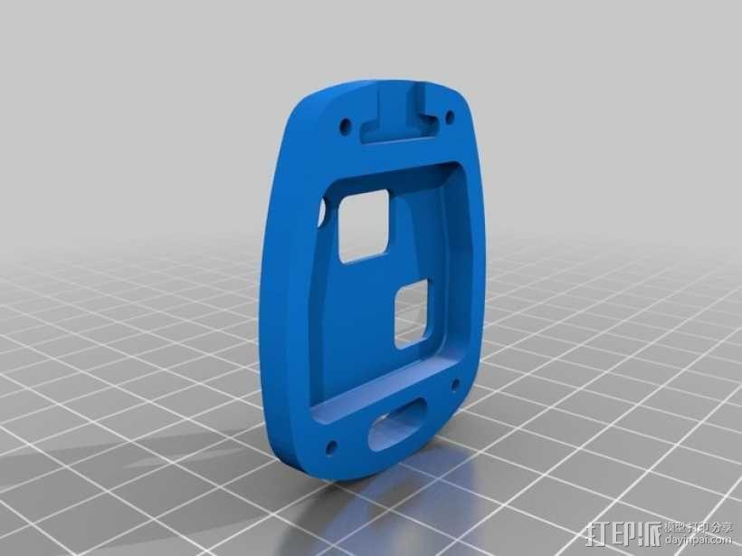 丰田钥匙盒 -- 远程按钮 3D模型  图2