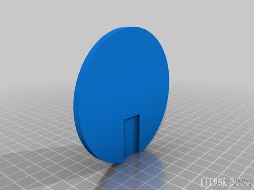 齿轮立方体装饰物 3D模型  图2