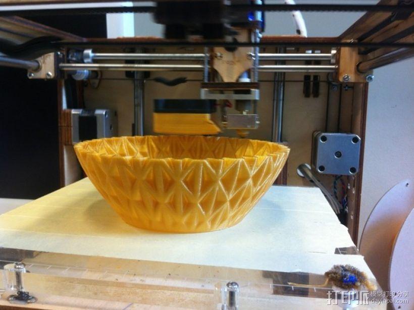 迷你圆形花瓶 3D模型  图3