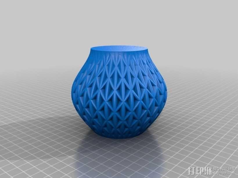 迷你圆形花瓶 3D模型  图9