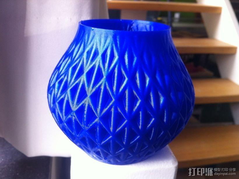 迷你圆形花瓶 3D模型  图7