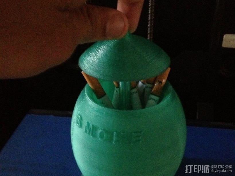 迷你香烟盒 3D模型  图1