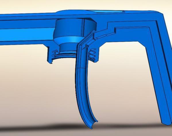 浇水壶零部件 3D模型  图4