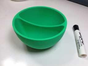 迷你燕麦碗 3D模型