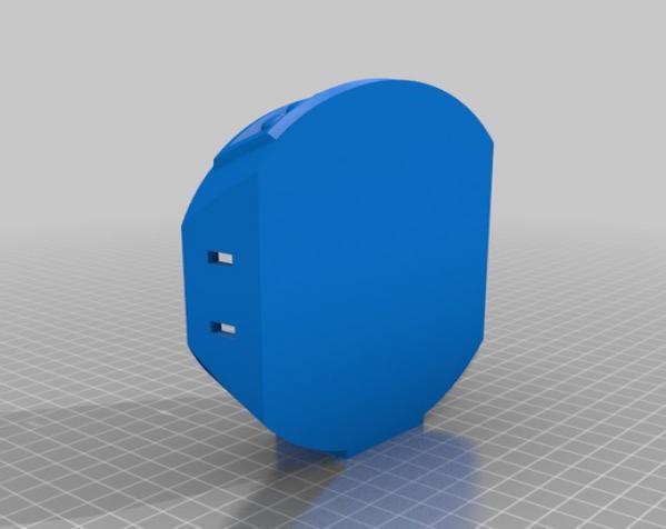 机械化花盆底座 3D模型  图8