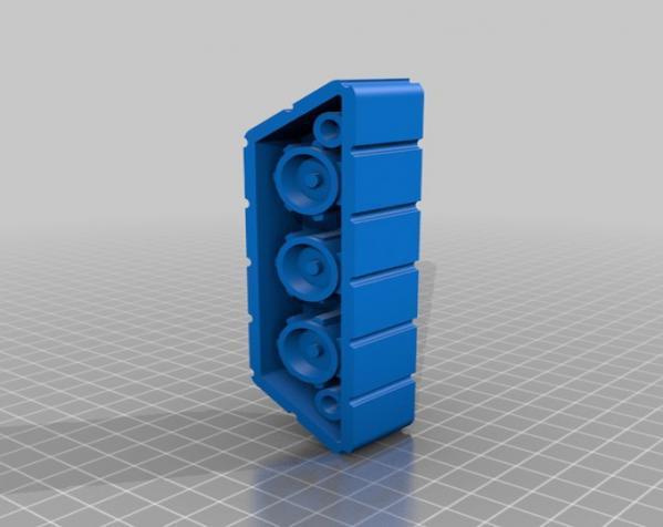 机械化花盆底座 3D模型  图9