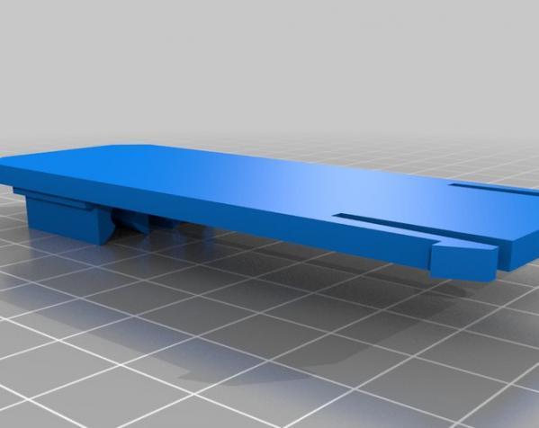 机械化花盆底座 3D模型  图10