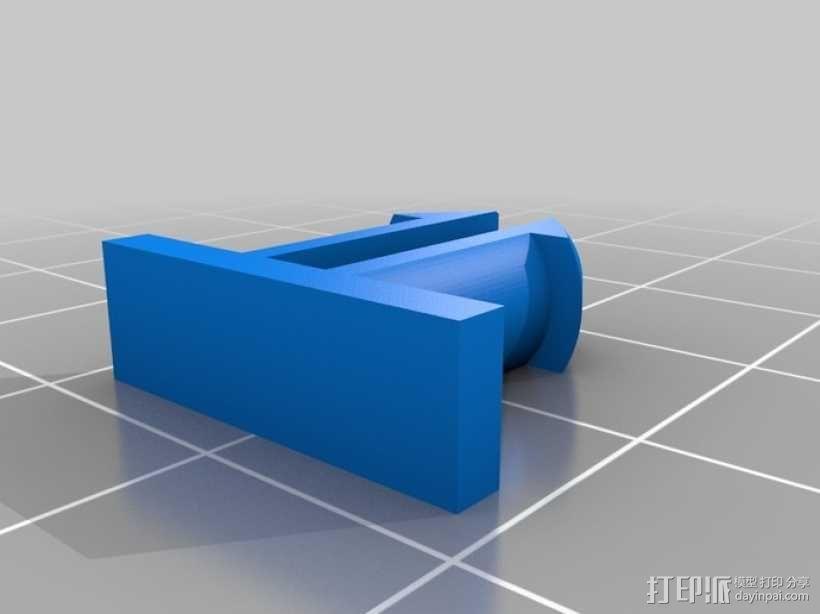 机械化花盆底座 3D模型  图13