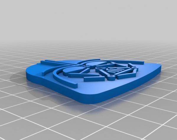 黑武士饼干模具切割刀 3D模型  图4