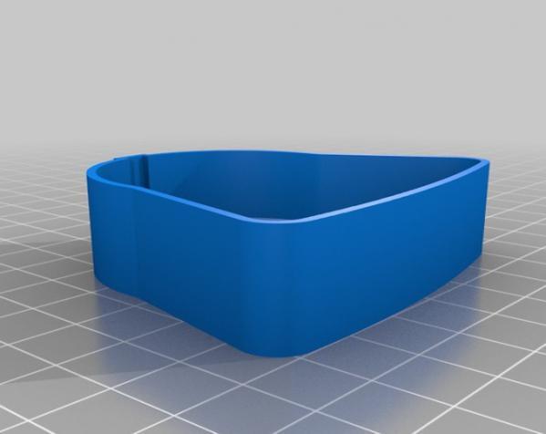 黑武士饼干模具切割刀 3D模型  图5