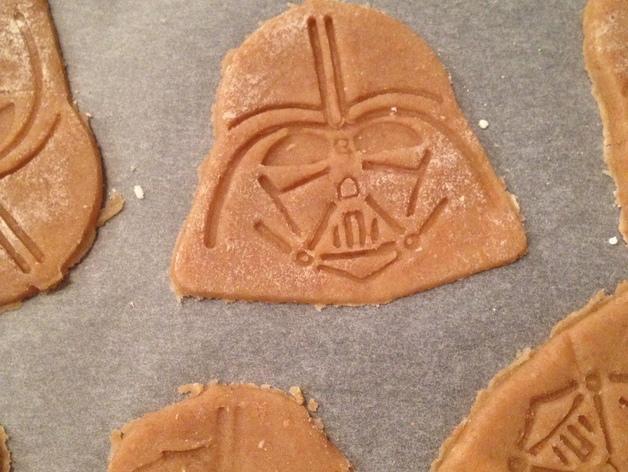 黑武士饼干模具切割刀 3D模型  图7