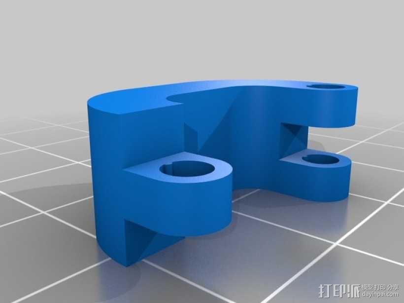 定制化磁力夹 3D模型  图3