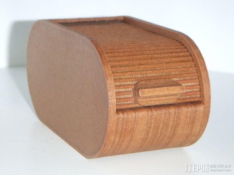 迷你椭圆形小盒 3D模型  图1