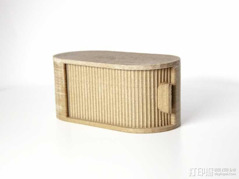 迷你椭圆形小盒 3D模型  图3