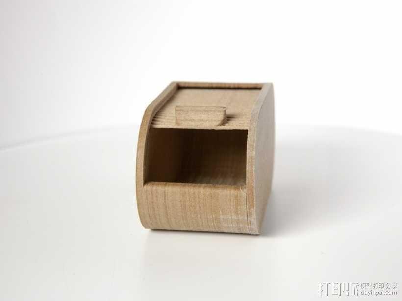 迷你椭圆形小盒 3D模型  图8