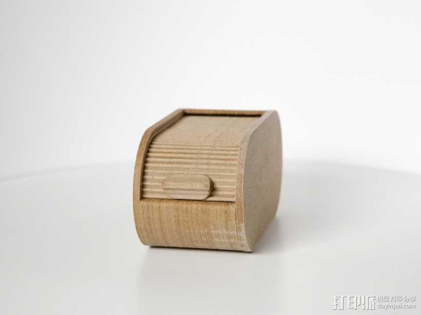 迷你椭圆形小盒 3D模型  图6