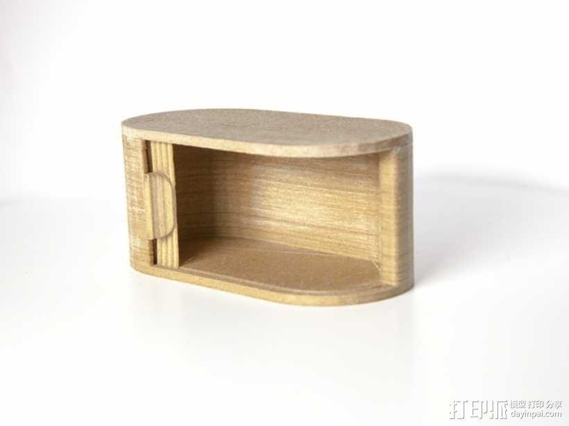 迷你椭圆形小盒 3D模型  图11