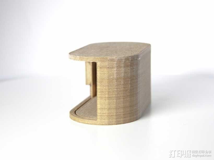 迷你椭圆形小盒 3D模型  图10