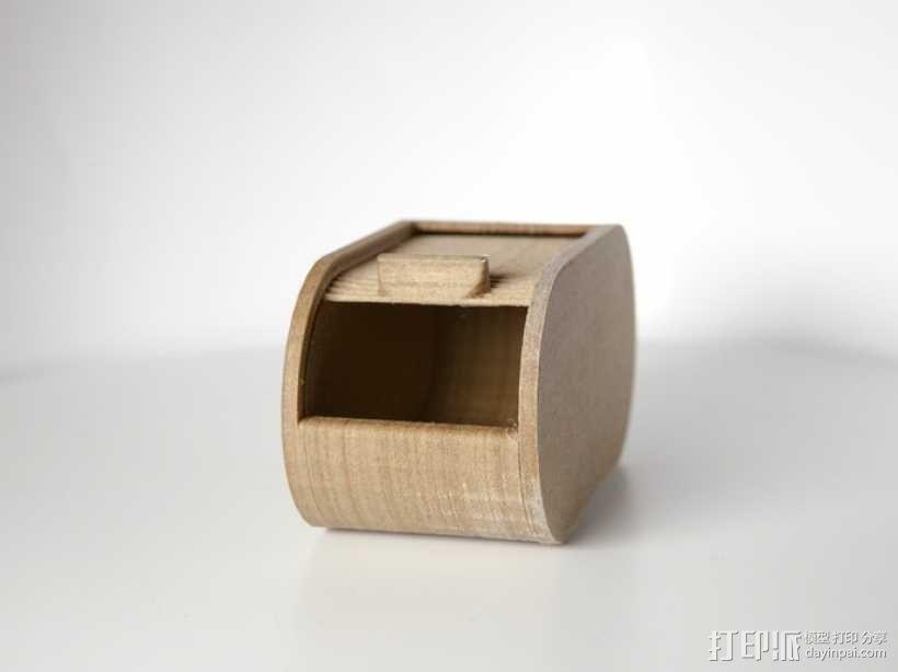 迷你椭圆形小盒 3D模型  图9